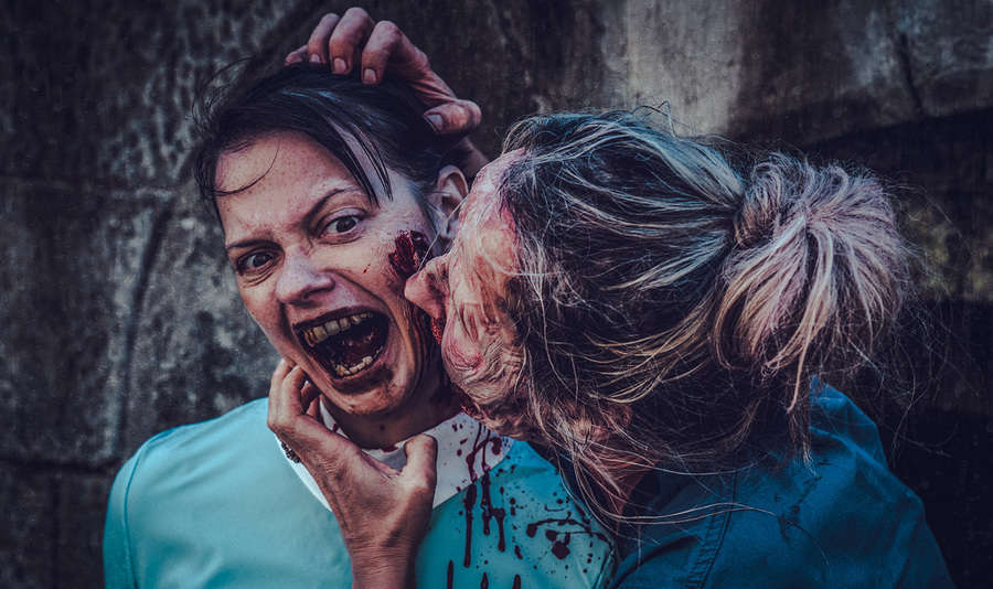 Bite of the Zombie / Photography by Matthew Jones / Uploaded 25th October 2018 @ 07:43 PM
