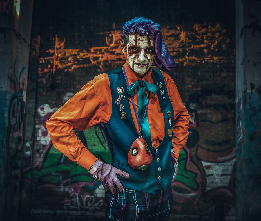Joker / Photography by Matthew Jones / Uploaded 11th November 2018 @ 07:58 PM