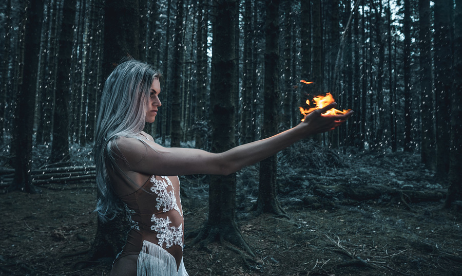 Flame in Winter / Photography by Matthew Jones / Uploaded 16th April 2019 @ 08:48 PM