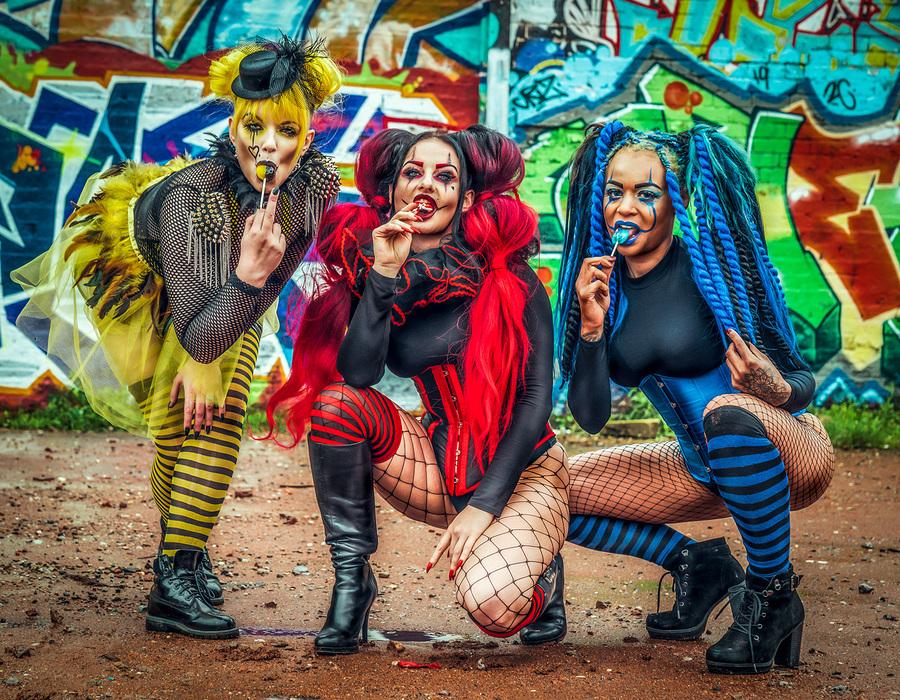 The Lollipop Girls / Photography by Matthew Jones, Models Delta Topaz, Models Naomileah91 / Uploaded 24th October 2019 @ 06:21 PM