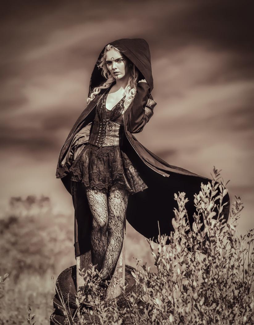 Girl in the field / Photography by Matthew Jones, Model Rune (chibirune), Makeup by velvet rose  MUA, Hair styling by velvet rose  MUA / Uploaded 3rd November 2019 @ 05:08 PM