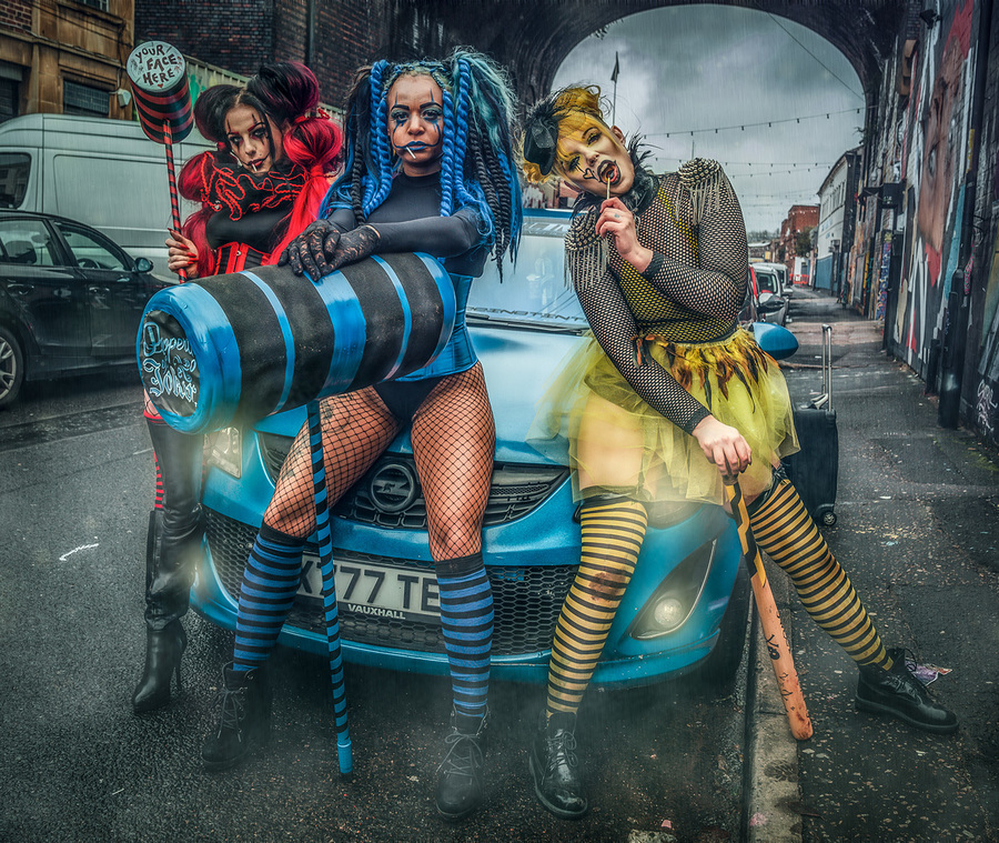 The Terrible Threes / Photography by Matthew Jones, Models Delta Topaz, Models Naomileah91 / Uploaded 9th November 2019 @ 05:17 PM