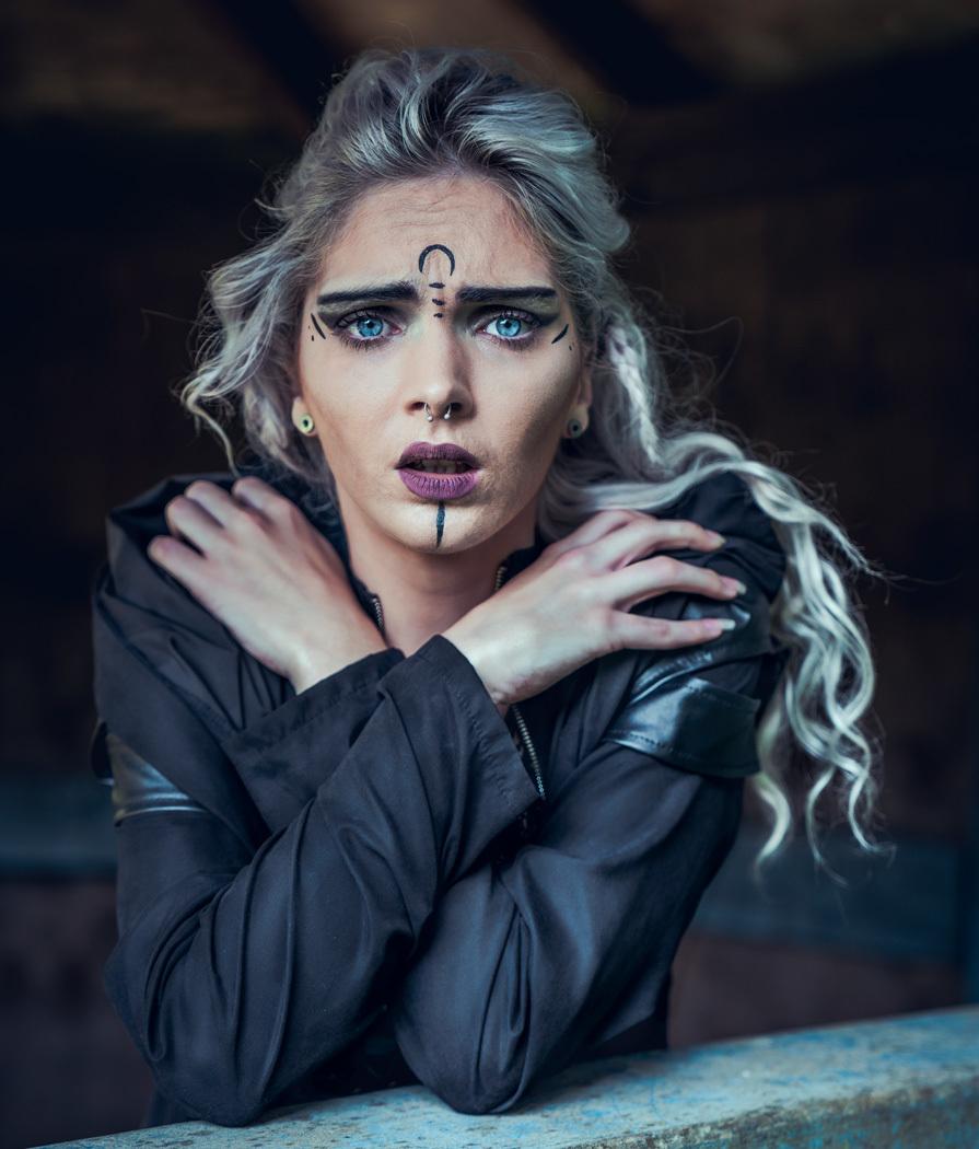 Afraid / Photography by Matthew Jones, Model Rune (chibirune), Makeup by velvet rose  MUA, Hair styling by velvet rose  MUA / Uploaded 10th November 2019 @ 06:46 PM