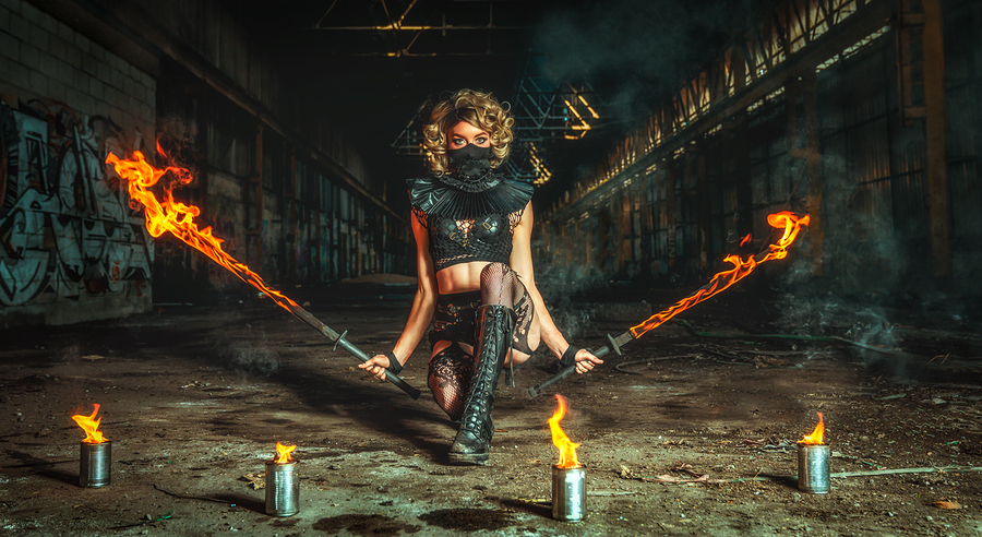 Fire Swords / Photography by Matthew Jones / Uploaded 5th January 2020 @ 05:28 PM