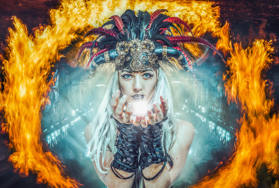 Soul Bringer / Photography by Matthew Jones, Model Gem Pyro, Makeup by Gem Pyro / Uploaded 12th January 2020 @ 08:28 PM