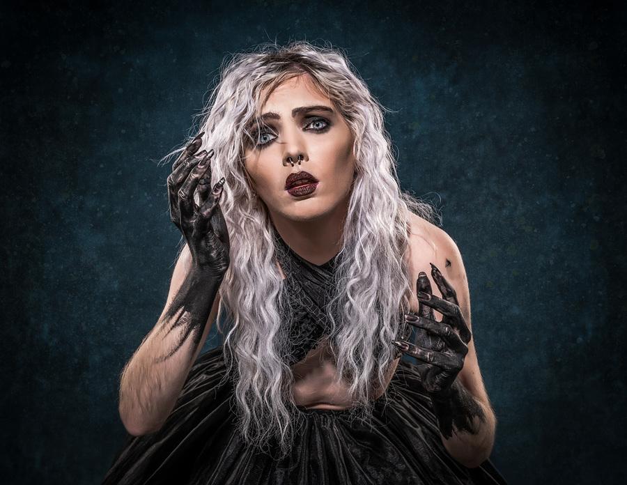 The Lost Girl / Photography by Matthew Jones, Model Rune (chibirune), Makeup by velvet rose  MUA, Hair styling by velvet rose  MUA / Uploaded 4th October 2020 @ 05:03 PM