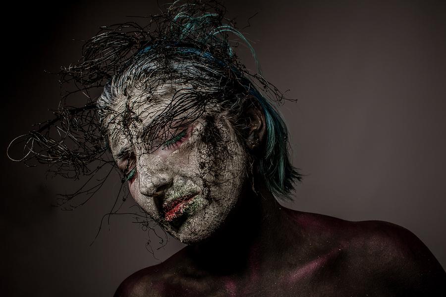 Photography by Tony Cooney, Model Kelli Kaleidoscope, Makeup by Kelli Kaleidoscope / Uploaded 1st April 2016 @ 11:34 PM