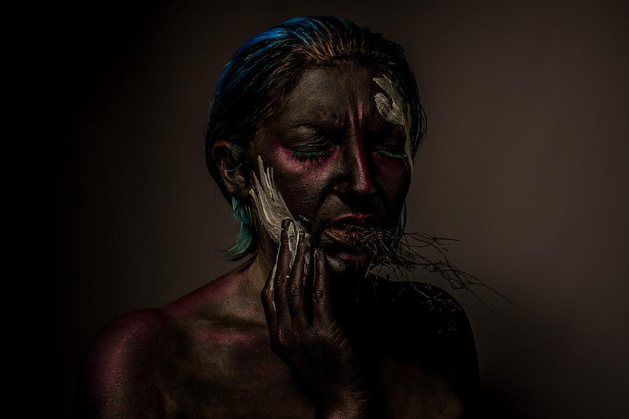 Photography by Tony Cooney, Model Kelli Kaleidoscope, Makeup by Kelli Kaleidoscope / Uploaded 3rd April 2016 @ 10:17 PM