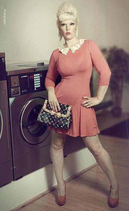 vintage laundrette shoot / Photography by SDR1000, Model Lelly D / Uploaded 8th July 2014 @ 06:30 AM