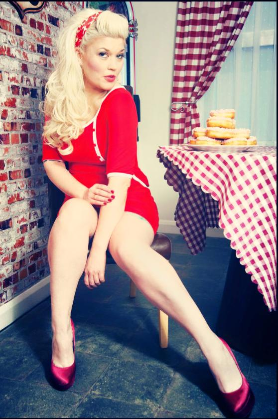 american diner shoot / Photography by The Pix Factory, Model Lelly D / Uploaded 6th February 2015 @ 07:39 PM