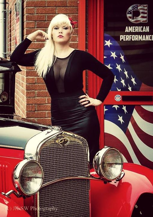 american car shoot / Model Lelly D / Uploaded 18th December 2013 @ 07:12 PM