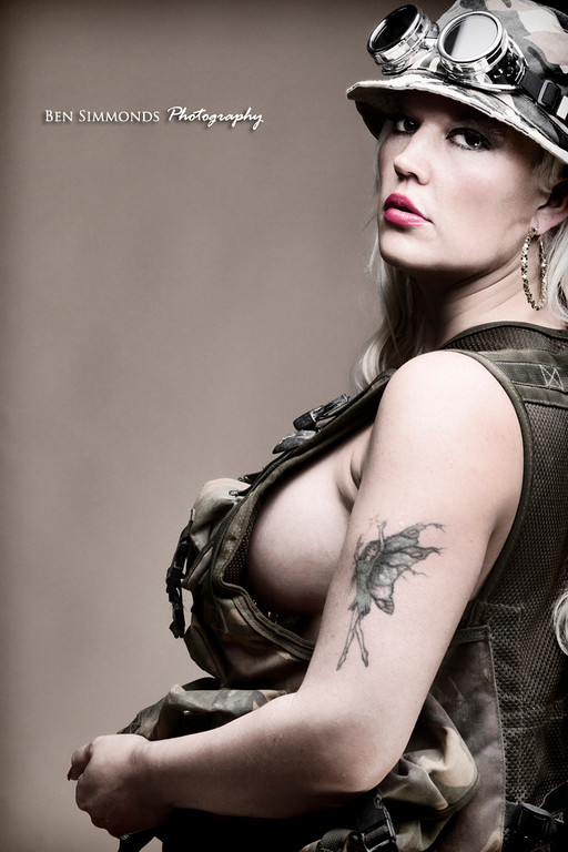 army style  / Photography by Nathan John, Model Lelly D / Uploaded 26th July 2013 @ 08:54 AM