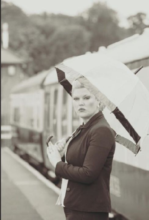 vintage railway shoot / Photography by Nik Sheppard, Model Lelly D / Uploaded 19th October 2015 @ 08:42 PM