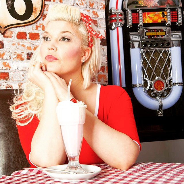 american diner shoot / Photography by The Pix Factory, Model Lelly D / Uploaded 6th February 2015 @ 07:32 PM