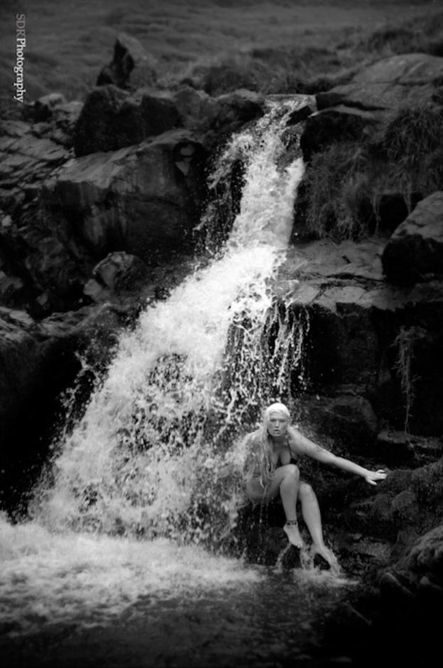 waterfall / Photography by SDR1000, Model Lelly D / Uploaded 7th July 2014 @ 09:02 AM