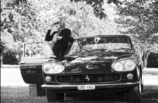 old ferrari shoot / Photography by Nik Sheppard, Model Lelly D / Uploaded 22nd August 2014 @ 05:29 PM