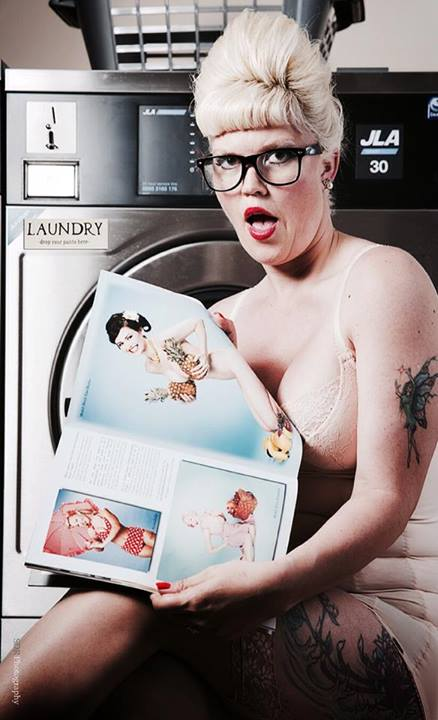vintage laundrette shoot / Photography by SDR1000, Model Lelly D / Uploaded 9th July 2014 @ 09:33 PM
