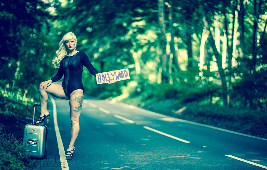 hitching to hollywood from bristol / Photography by Jody Wright Photography, Model Lelly D / Uploaded 19th September 2013 @ 06:06 PM