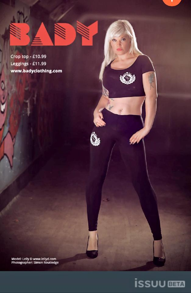 published uk biggest magazine boxing clothing  / Model Lelly D / Uploaded 18th January 2015 @ 08:00 AM