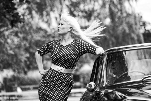 old ferrari shoot / Photography by Nik Sheppard, Model Lelly D / Uploaded 20th August 2014 @ 10:00 AM