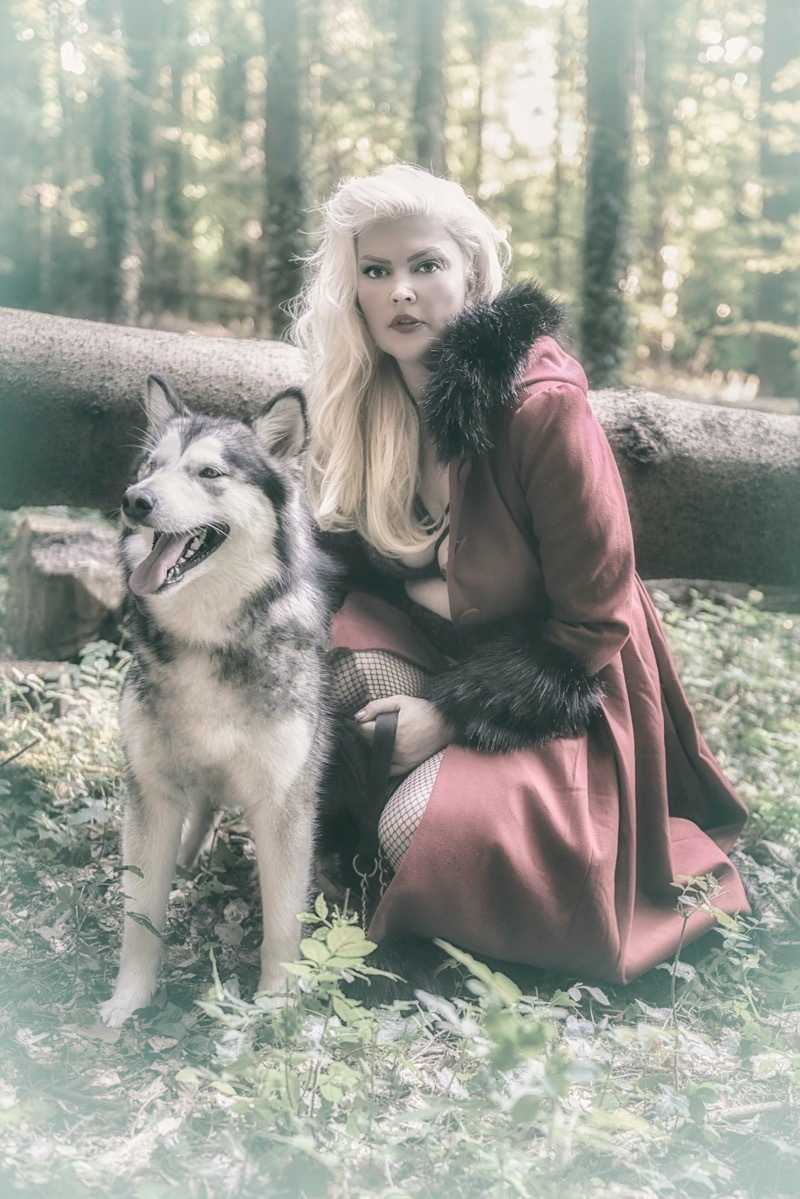 Red riding hood / Photography by C.Stevens Images, Model Lelly D / Uploaded 8th July 2018 @ 05:56 AM