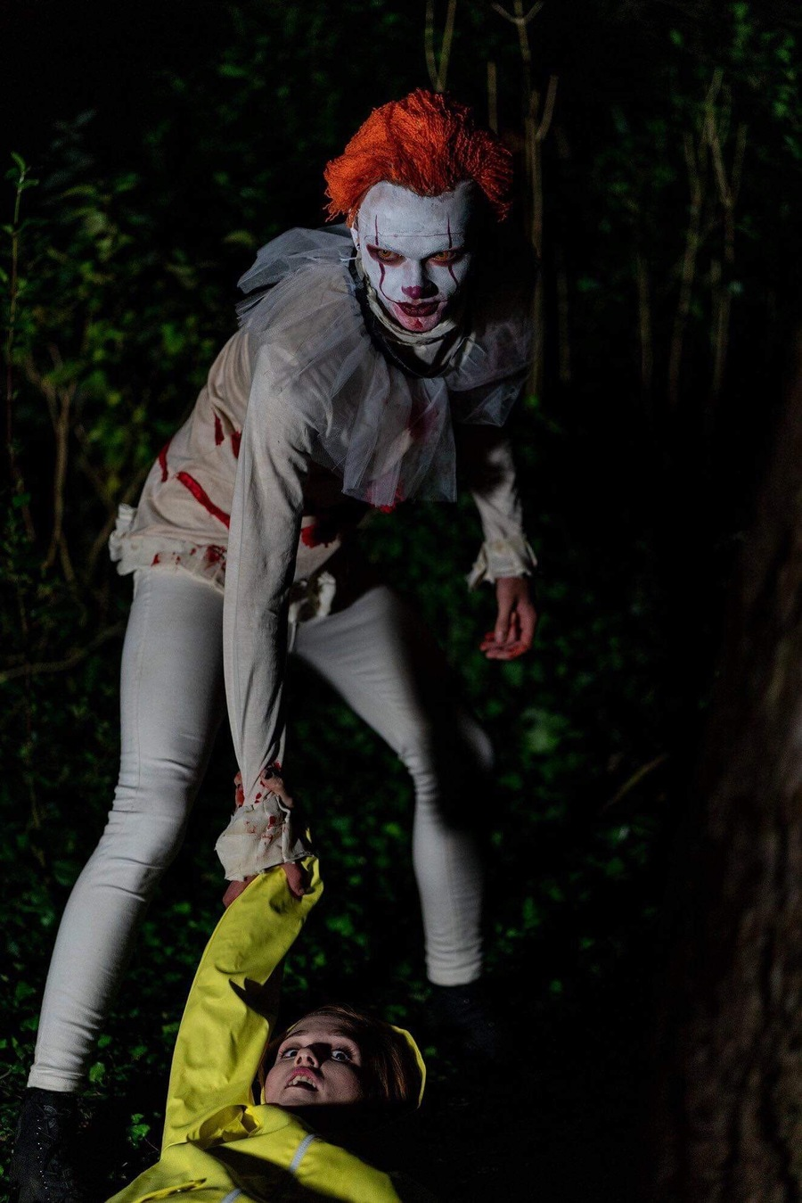 Come to the woods / Models Megan Annie, Models Tyler Hasdell, Makeup by Megan Annie / Uploaded 22nd September 2019 @ 10:31 AM