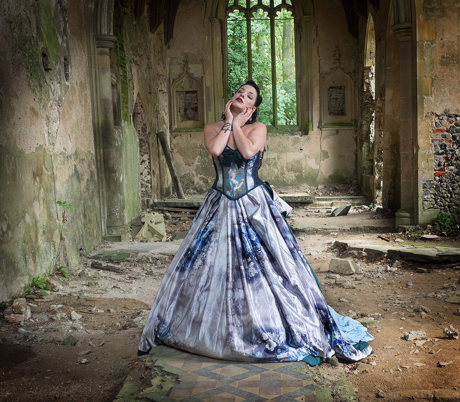 Amongst Ruin / Photography by BrianE, Model JadeStacyMaria / Uploaded 12th May 2021 @ 11:08 AM