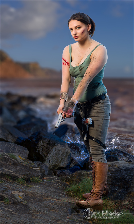 Lara Croft / Photography by Chaz Photographics, Post processing by Chaz Photographics / Uploaded 18th September 2019 @ 10:55 AM