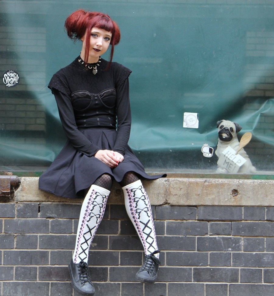 Gothic Doll  / Photography by DaveinSurrey, Model Leah Fraser / Uploaded 22nd September 2019 @ 09:15 AM