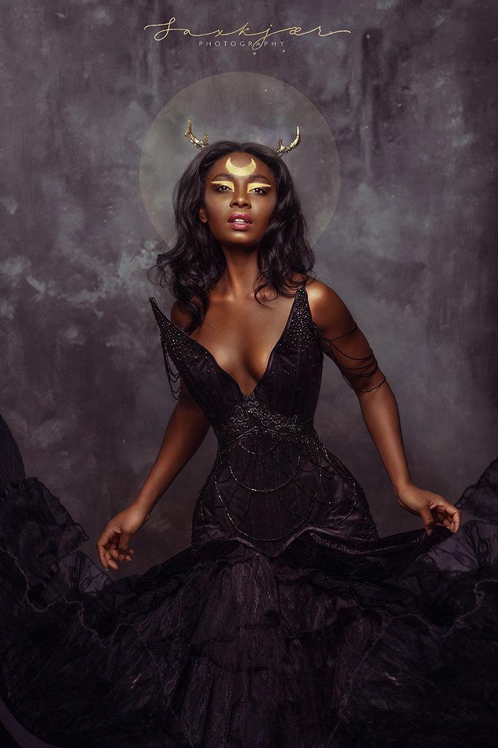 Black widow / Model Faith Starr Model / Uploaded 30th August 2019 @ 09:01 PM
