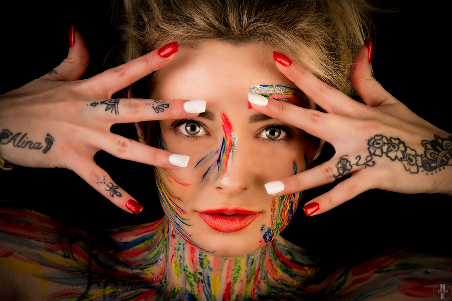 Hands, Face, Space / Photography by Photographical ME, Model CharmaineLou, Makeup by CharmaineLou, Makeup by Leanne_May, Post processing by Photographical ME, Taken at Phoenix Creative FX Studio / Uploaded 20th January 2021 @ 06:07 PM