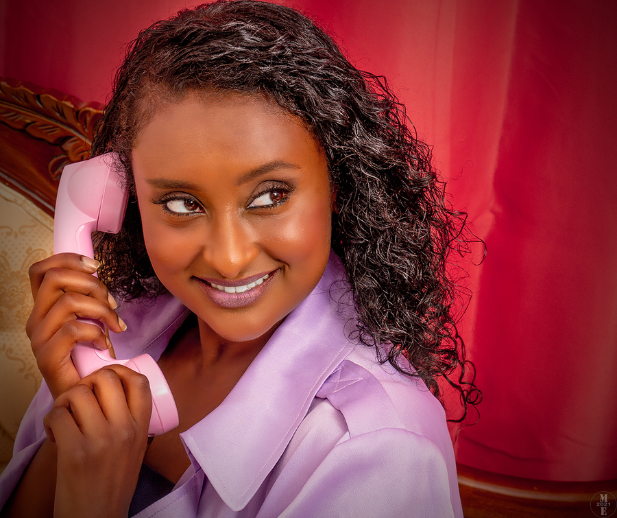 Hangin' On The Telephone 3 / Photography by Photographical ME, Post processing by Photographical ME, Taken at Phoenix Creative FX Studio / Uploaded 29th August 2021 @ 05:59 AM