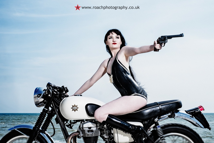 Motorbike Chic 2 / Photography by Andrew Roach / Uploaded 21st June 2016 @ 08:08 AM