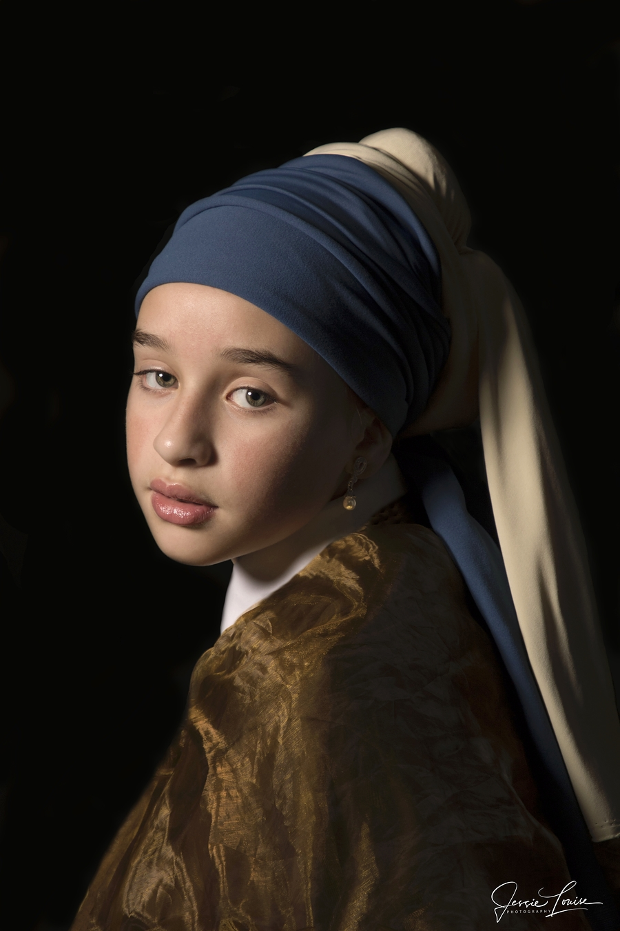 My Girl with the Pearl Earring / Photography by Jessie Louise / Uploaded 22nd September 2019 @ 08:28 PM
