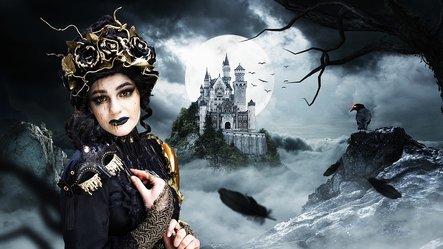 The Dark Queen / Photography by Daniel D Springgay / Uploaded 2nd October 2019 @ 12:53 PM