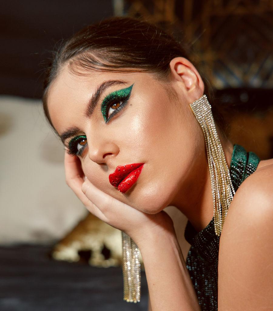 NYE Glam / Photography by Lili Way, Model Poppy Haskell, Makeup by Mariola Mamak MUA / Uploaded 15th January 2021 @ 03:38 PM