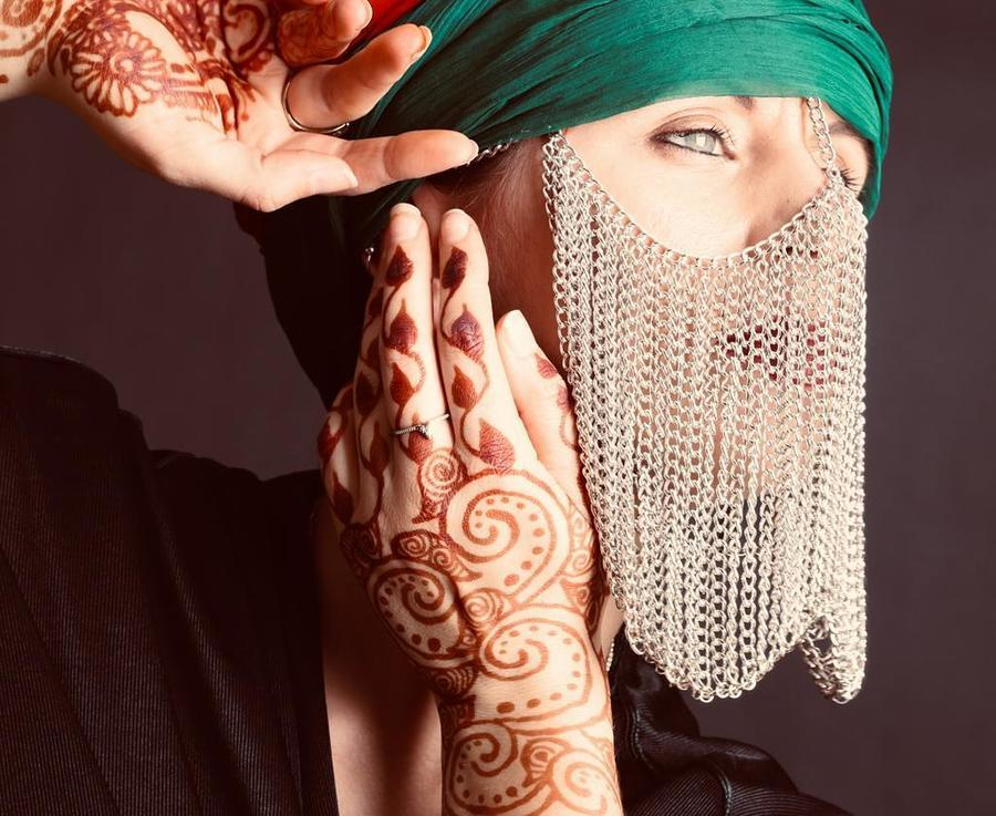 Beneath the mask / Photography by Studio 42, Model Freya, Stylist Henna South West / Uploaded 7th October 2019 @ 02:18 PM