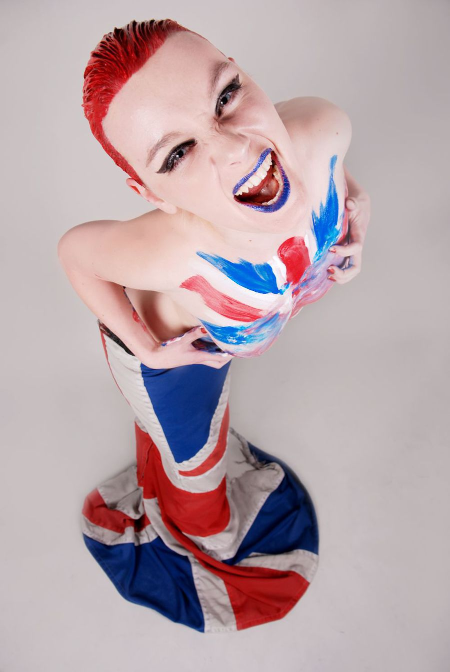 Rule Britannia! / Model Holly Alexander / Uploaded 7th July 2012 @ 03:39 PM
