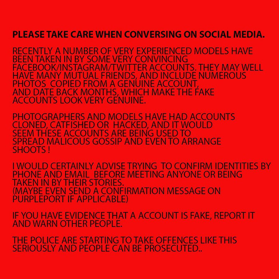 Social media warning / Taken at HallamMill (Truedefinition) / Uploaded 16th October 2017 @ 11:35 PM
