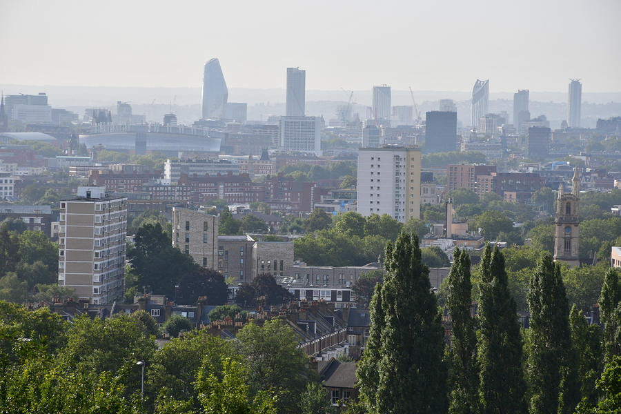 London from Parliament Hill... / Photography by Tugmaster / Uploaded 9th October 2019 @ 12:22 PM