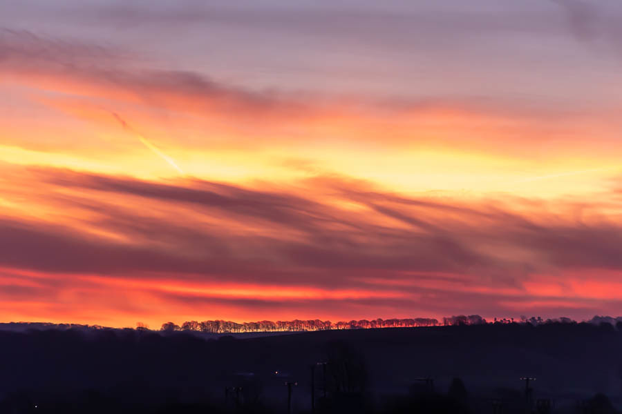 Sunrise over the Cotswolds / Photography by Tugmaster / Uploaded 14th February 2020 @ 09:11 AM