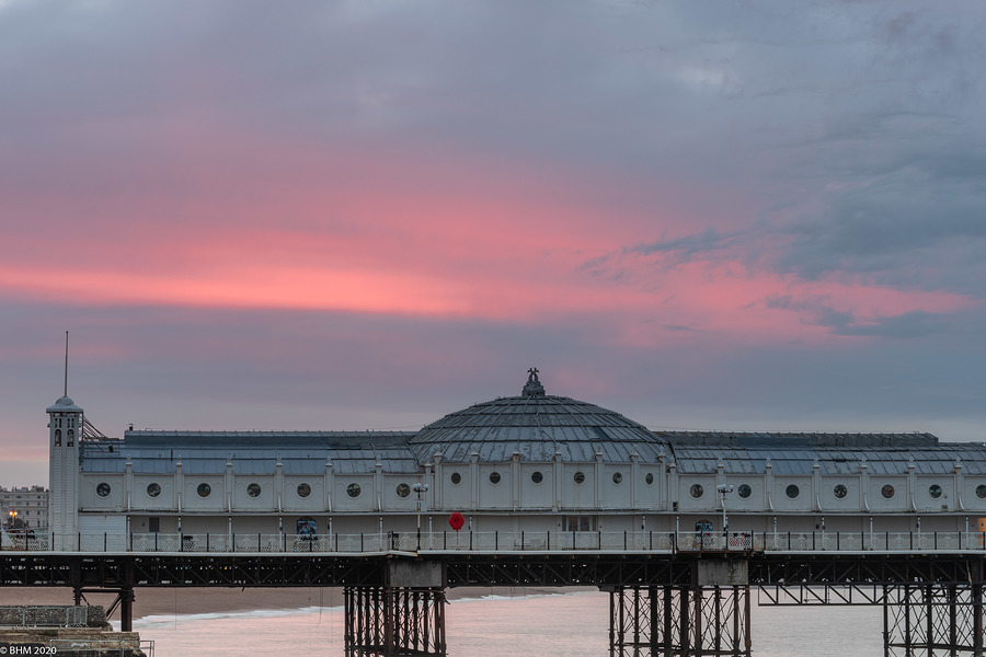 Brighton Pier at sunrise / Photography by Tugmaster / Uploaded 28th March 2020 @ 11:51 AM