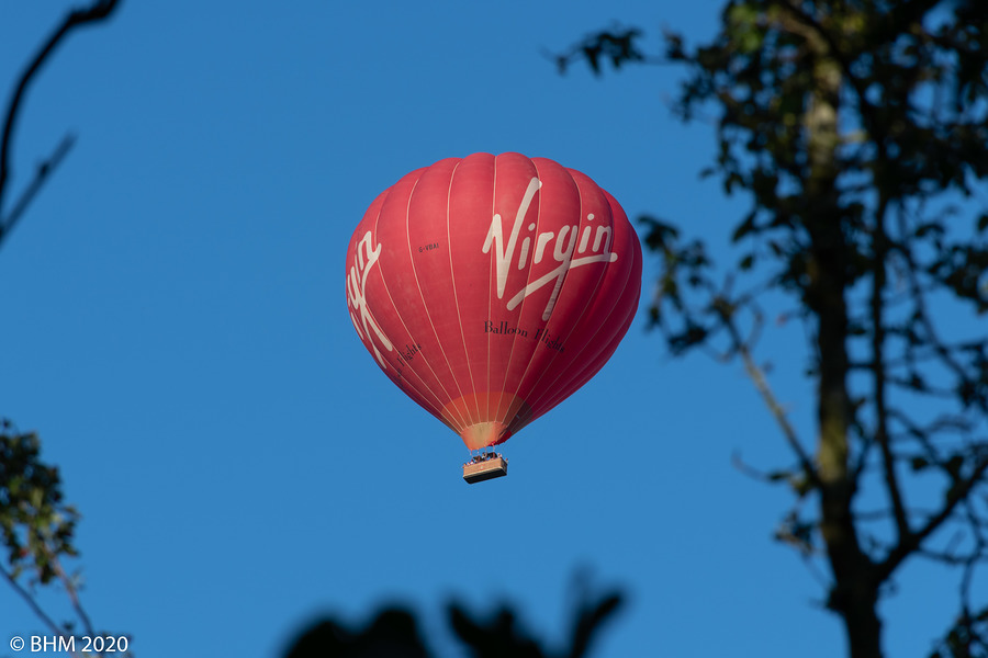 Virgin Balloon... / Photography by Tugmaster / Uploaded 10th June 2020 @ 07:39 AM