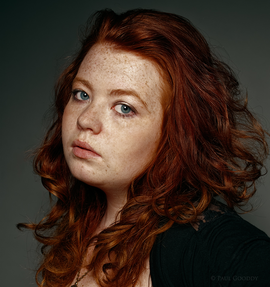 Jasmine portrait / Photography by Paul Gooddy, Model Rusti Rose / Uploaded 12th September 2014 @ 01:43 PM
