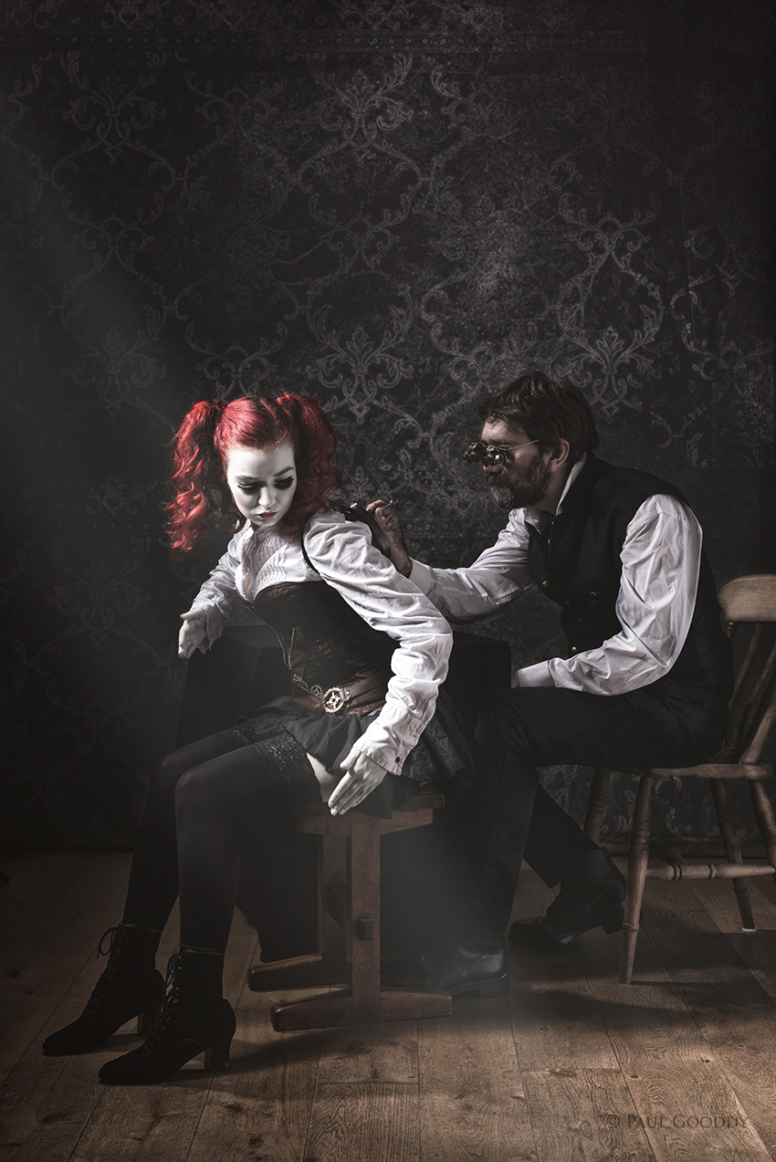 The Doll and the Toymaker / Photography by Paul Gooddy, Models Bad Dolly, Models PaulG-model, Makeup by Jules Robson / Uploaded 18th February 2015 @ 02:40 PM
