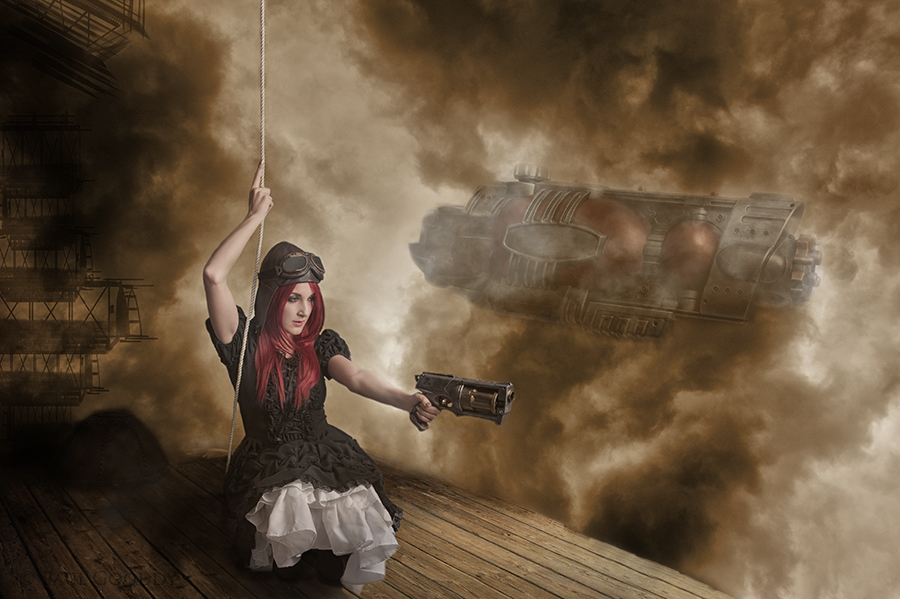 Air Pirates / Photography by Paul Gooddy, Model BeccaChii, Post processing by Paul Gooddy / Uploaded 22nd October 2013 @ 07:19 AM