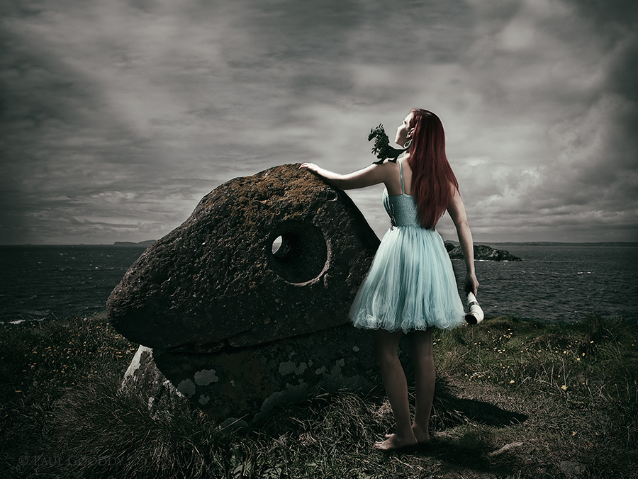 The Dragon Calling Stone / Photography by Paul Gooddy, Model Bad Dolly, Post processing by Paul Gooddy / Uploaded 16th October 2014 @ 07:19 AM