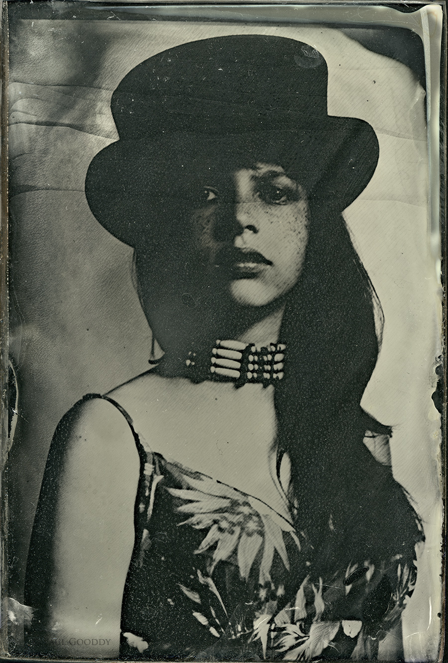 Amanda, Wet plate on glass / Photography by Paul Gooddy / Uploaded 18th September 2014 @ 08:12 AM