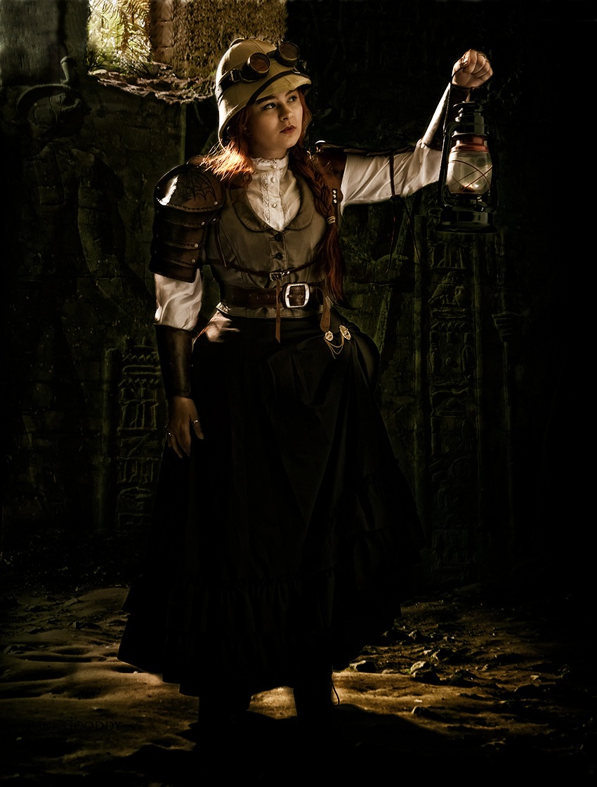 The Mummy, Steampunk version / Photography by Paul Gooddy, Model Vanille Chaton / Uploaded 21st August 2014 @ 07:28 AM