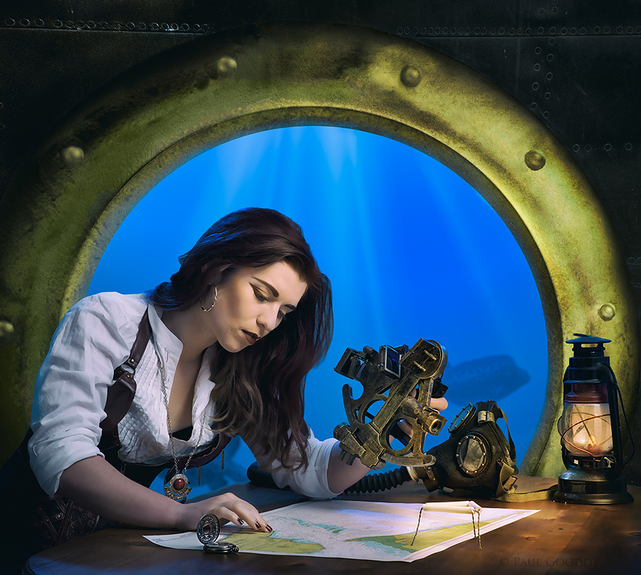 Navigating the Nautilus / Photography by Paul Gooddy, Model Helen-Rose / Uploaded 26th January 2017 @ 03:32 PM